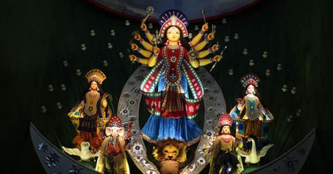 KaKashi Bose Lane Durga Puja Samity 2013